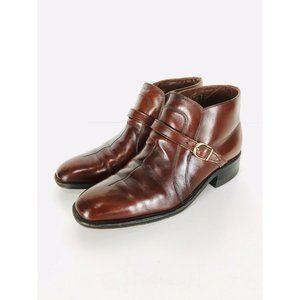 Vtg Sears 70's  Easy Flex Cognac Chelsea Boots